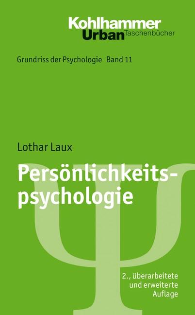Abbildung von Laux | Persönlichkeitspsychologie | 2., überarb. und erw. Aufl. | 2008