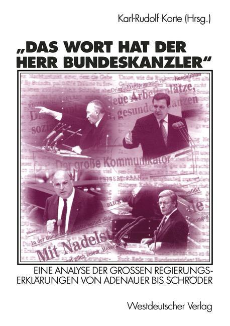 Abbildung von Korte | Das Wort hat der Herr Bundeskanzler | 2002