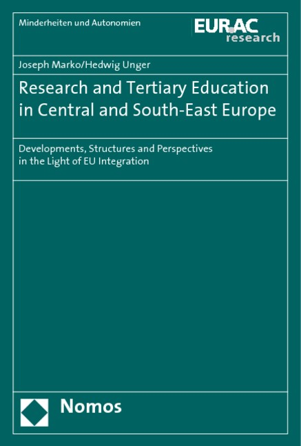 Abbildung von Marko / Unger | Research and Tertiary Education in Central and South-East Europe | 2010