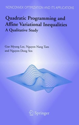 Abbildung von Lee / Tam / Yen   Quadratic Programming and Affine Variational Inequalities   2005   A Qualitative Study   78