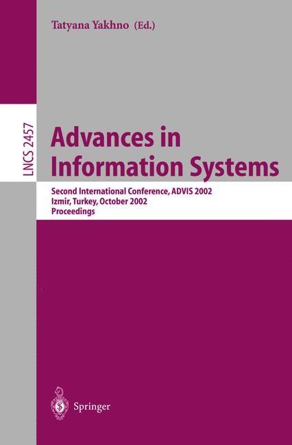 Abbildung von Yakhno | Advances in Information Systems | 2002