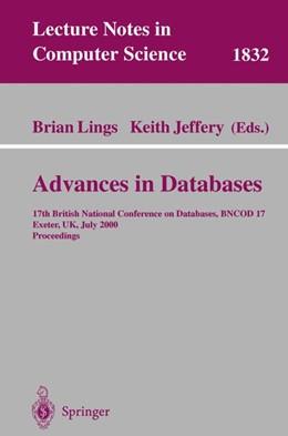 Abbildung von Lings / Jeffery | Advances in Databases | 2000