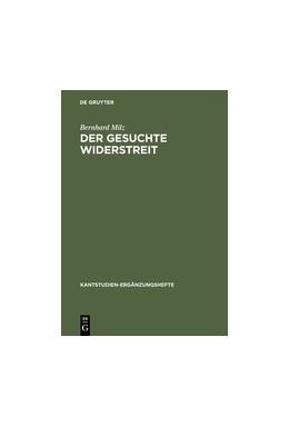 Abbildung von Milz | Der gesuchte Widerstreit | Reprint 2012 | 2001