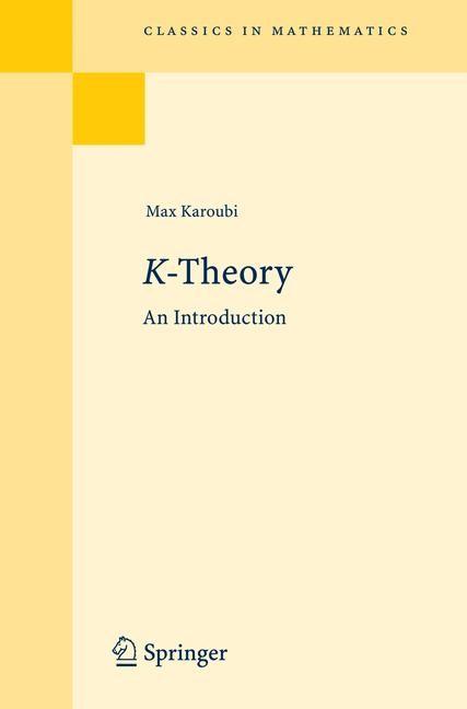 Abbildung von Karoubi | K-Theory | 2008 | 2008