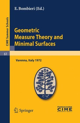 Abbildung von Bombieri | Geometric Measure Theory and Minimal Surfaces | Reprint of the 1st. ed. C.I.M.E., Ed. Cremonese, Roma, 1973. | 2010 | Lectures given at a Summer Sch... | 61