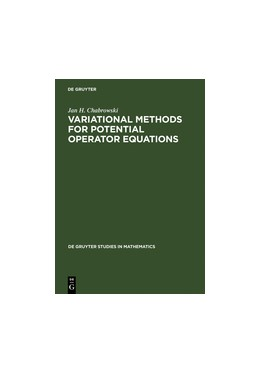 Abbildung von Chabrowski | Variational Methods for Potential Operator Equations | Reprint 2011 | 1997 | With Applications to Nonlinear... | 24