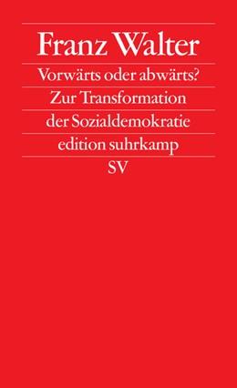 Abbildung von Walter | Vorwärts oder abwärts? | Originalausgabe | 2010 | Zur Transformation der Soziald... | 2622