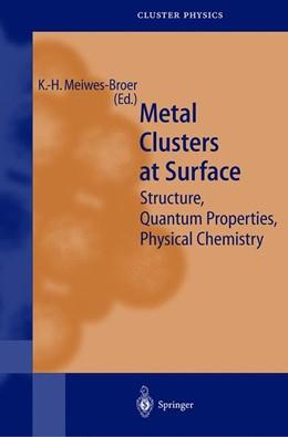 Abbildung von Meiwes-Broer | Metal Clusters at Surfaces | 2000 | Structure, Quantum Properties,...