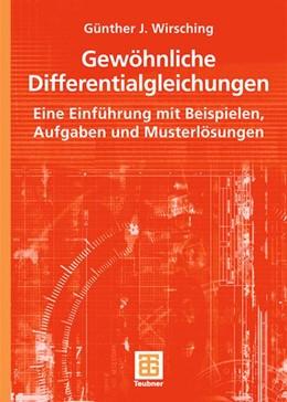 Abbildung von Wirsching   Gewöhnliche Differentialgleichungen   2006