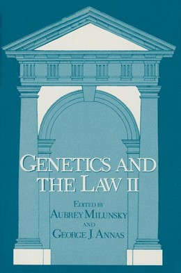 Abbildung von Milunsky | Genetics and the Law II | 1980