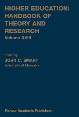 Abbildung von Smart | Higher Education: Handbook of Theory and Research | 2003 | Volume XVIII | 18