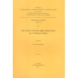 Abbildung von The Ge'ez Acts of Abba Estifanos of Gwendagwende | 2007 | T. | Volume 619