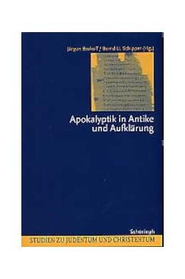 Abbildung von Brokoff / Schipper | Apokalyptik in Antike und Aufklärung | 2003 | Neun Modellanalysen