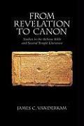 Abbildung von VanderKam   From Revelation to Canon   1999