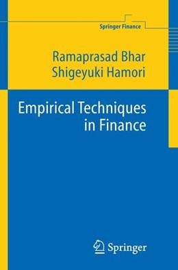 Abbildung von Bhar / Hamori   Empirical Techniques in Finance   2005
