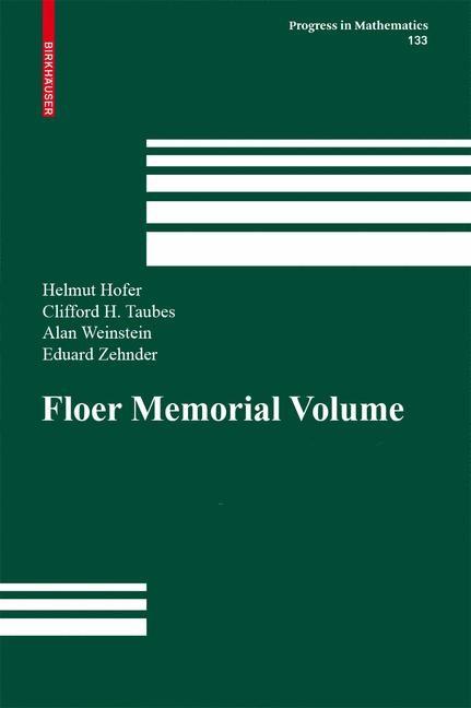 Abbildung von Hofer / Taubes / Weinstein / Zehnder   The Floer Memorial Volume   1995