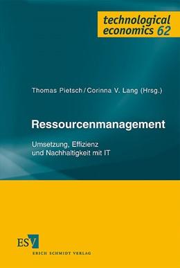 Abbildung von Pietsch / Lang   Ressourcenmanagement   2007   Umsetzung, Effizienz und Nachh...   62