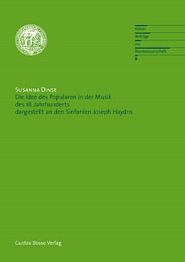 Abbildung von Dinse | Die Idee des Popularen in der Musik des 18. Jahrhunderts | 2008 | Dargestellt an den Sinfonien J... | 8