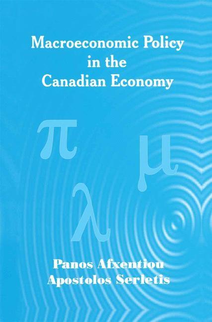 Abbildung von Afxentiou / Serletis   Macroeconomic Policy in the Canadian Economy   2002