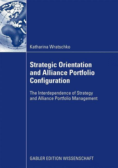 Abbildung von Wratschko | Strategic Orientation and Alliance Portfolio Configuration | 2009