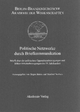 Abbildung von Herres / Neuhaus   Politische Netzwerke durch Briefkommunikation   2002   Briefkultur der politischen Op...