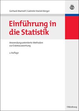 Abbildung von Marinell / Steckel-Berger | Einführung in die Statistik | 2., überarb. und erw. Aufl. | 2008 | Anwendungsorientierte Methoden...
