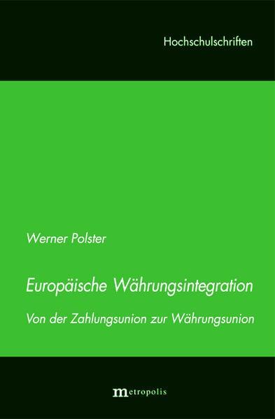 Abbildung von Polster | Europäische Währungsintegration