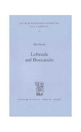 Abbildung von Flasch | Lobrede auf Boccaccio | 2003