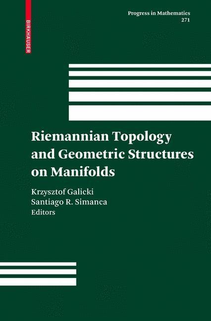 Abbildung von Galicki / Simanca   Riemannian Topology and Geometric Structures on Manifolds   2008