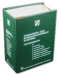 Sparkassen- und Bankaufsichtsrecht in Bayern   Dülp   Loseblattwerk mit Aktualisierungen, 2011 (Cover)