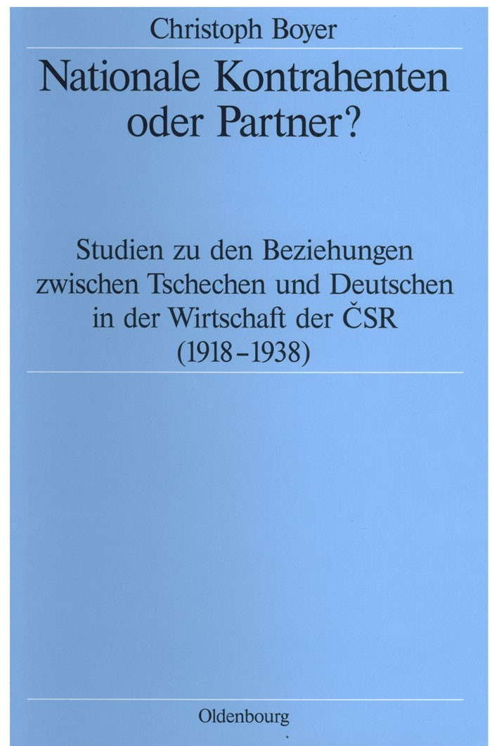 Nationale Kontrahenten oder Partner? | Boyer, 1999 | Buch (Cover)