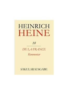 Abbildung von Mende / Böhm | De la France. Kommentar | 1993