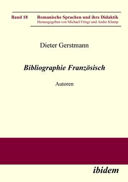 Abbildung von Gerstmann | Bibliographie Französisch | 2008 | Autoren | 18