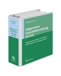 Abbildung von Wiedemann / Fritsch | Organisationshandbuch für bayerische Behörden | Loseblattwerk mit Aktualisierungen | 2019 | Kommentierung der Allgemeinen ...