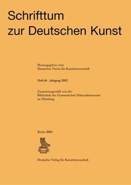 Abbildung von Schrifttum zur deutschen Kunst | 2006