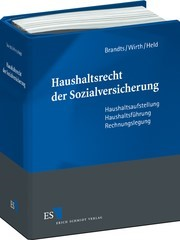Haushaltsrecht der Sozialversicherung | Brandts / Wirth / Held | Loseblattwerk mit Aktualisierungen, 2013 (Cover)