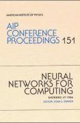 Abbildung von Denker | Neural Networks for Computing | 1998