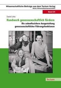 Handwerk genossenschaftlich fördern   Linke, 2008   Buch (Cover)