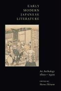 Abbildung von Shirane   Early Modern Japanese Literature   abridged edition   2008