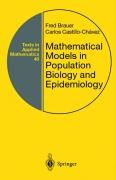 Mathematical Models in Population Biology and Epidemiology | Brauer / Castillo-Chavez, 2001 | Buch (Cover)