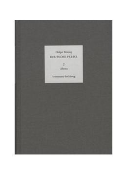 Abbildung von Böning / Moepps | Deutsche Presse / Band 2: Altona – Bergedorf – Harburg – Schiffbek – Wandsbek | 1997