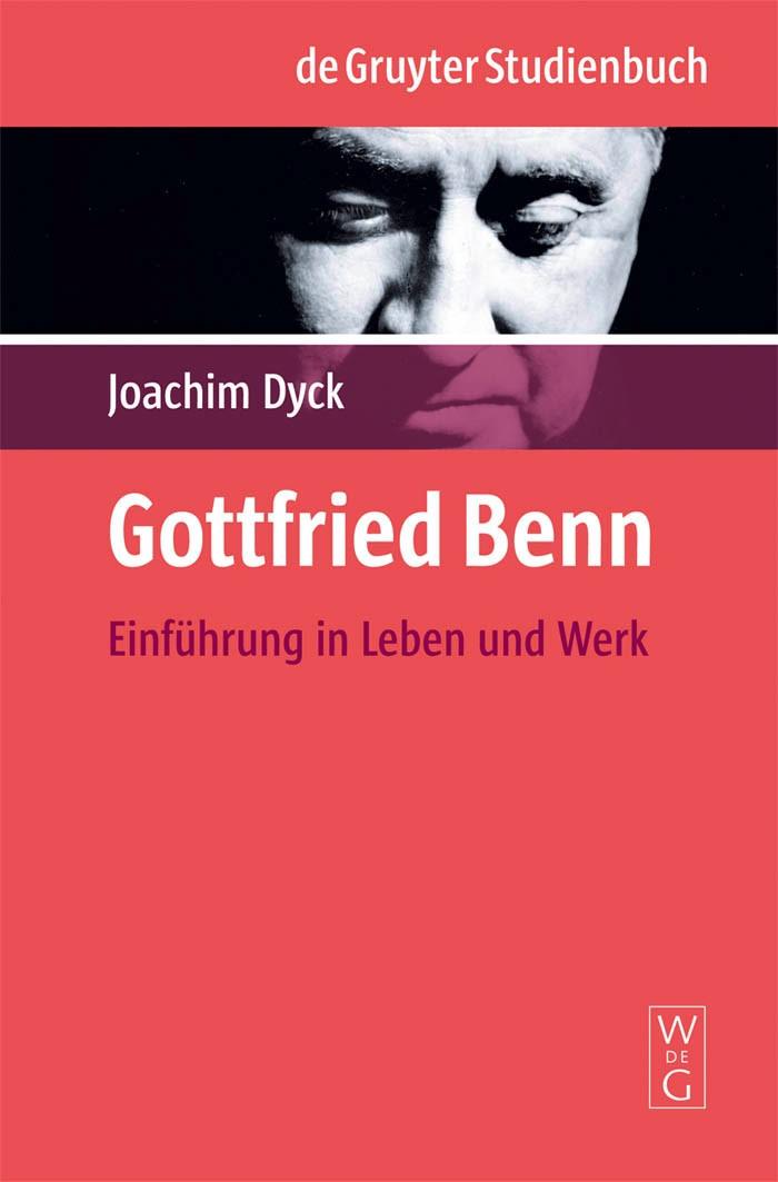 Gottfried Benn | Dyck, 2009 | Buch (Cover)