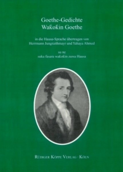 Goethe-Gedichte | Jungraithmayr / Ahmed, 2006 (Cover)