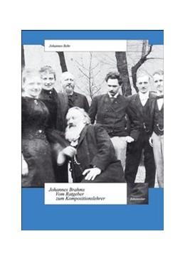 Abbildung von Gerhard / Hinrichsen / Lütteken / Pietschmann | Johannes Brahms - Vom Ratgeber zum Kompositionslehrer | 2007 | Eine Untersuchung in Fallstudi... | 6