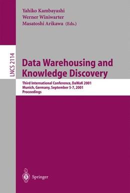 Abbildung von Kambayashi / Winiwarter / Arikawa | Data Warehousing and Knowledge Discovery | 2001 | Third International Conference... | 2114