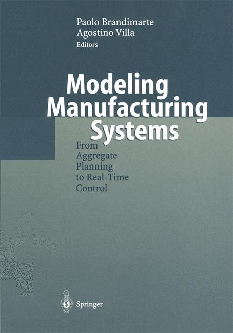 Modeling Manufacturing Systems | Brandimarte / Villa, 1999 | Buch (Cover)
