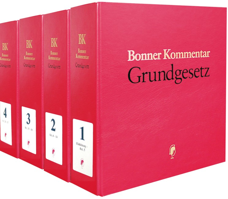 Bonner Kommentar zum Grundgesetz • ohne Aktualisierungsservice | Kahl / Waldhoff / Walter (Hrsg.) | Loseblattwerk mit 193. Aktualisierung, 2013 (Cover)