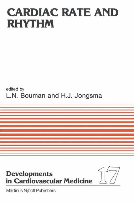 Cardiac Rate and Rhythm | Bouman / Jongsma, 1982 | Buch (Cover)