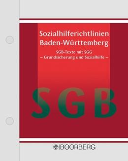 Abbildung von Sozialhilferichtlinien Baden-Württemberg | 1. Auflage | 2020 | beck-shop.de