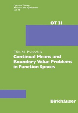 Abbildung von Polishchuk | Continual Means and Boundary Value Problems in Function Spaces | 1. Auflage | 1988 | 31 | beck-shop.de
